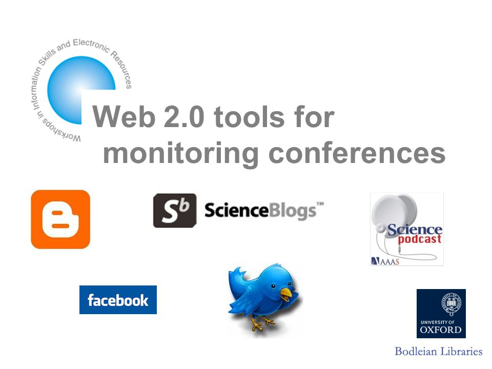 Web 2.0 tools for monitoring conferences