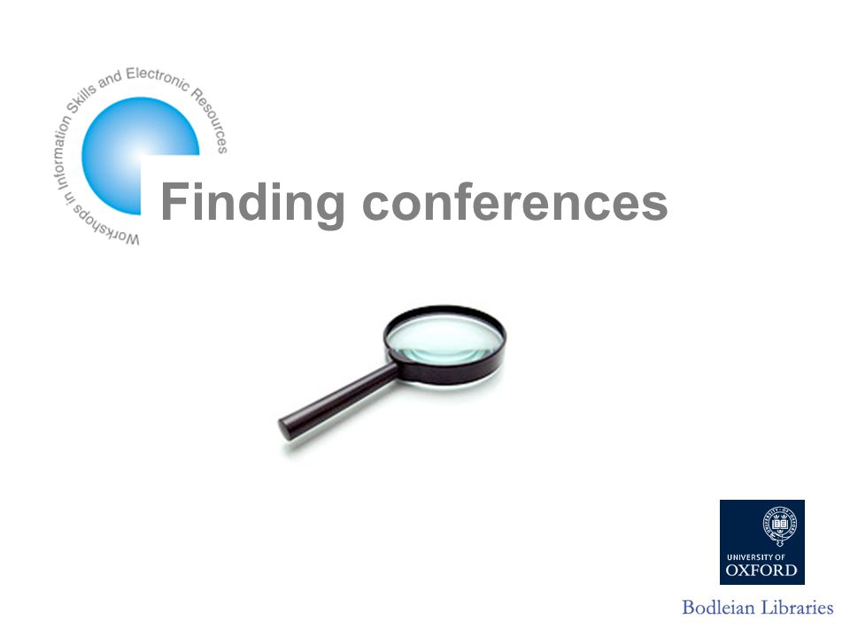 Finding conferences