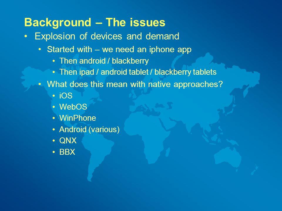Cross Platform Mobile application development HTML5 and