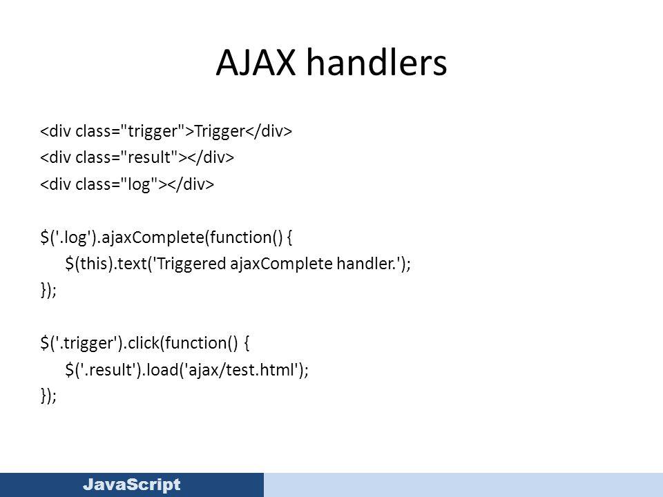 JavaScript JQuery JavaScript Resources  Resources