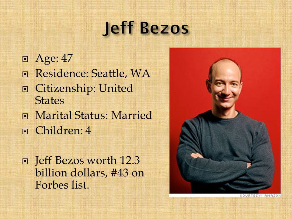 Age 47 Residence Seattle Wa Citizenship United States