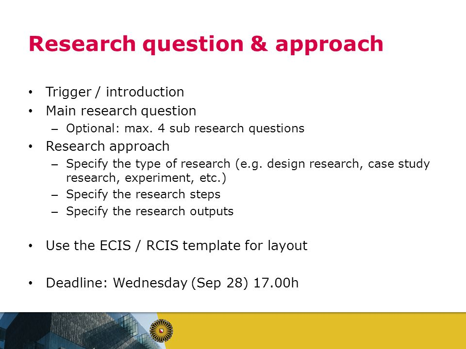 sub questions in qualitative research