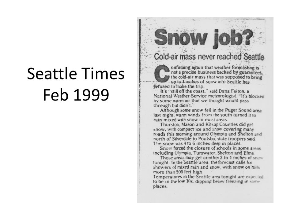 Seattle Times Feb 1999