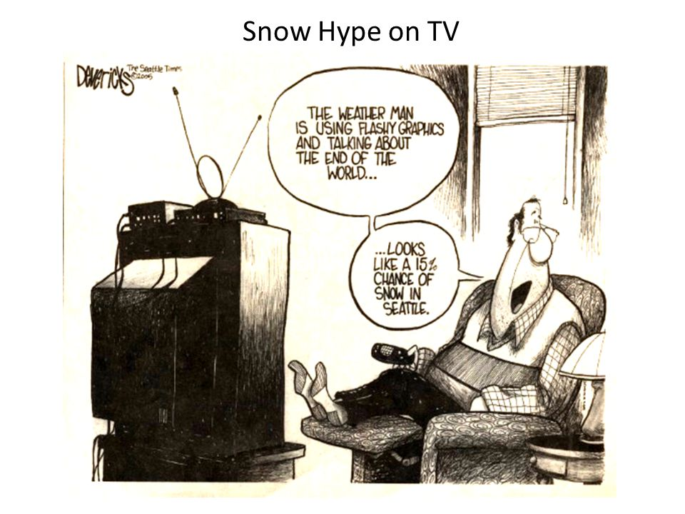 Snow Hype on TV