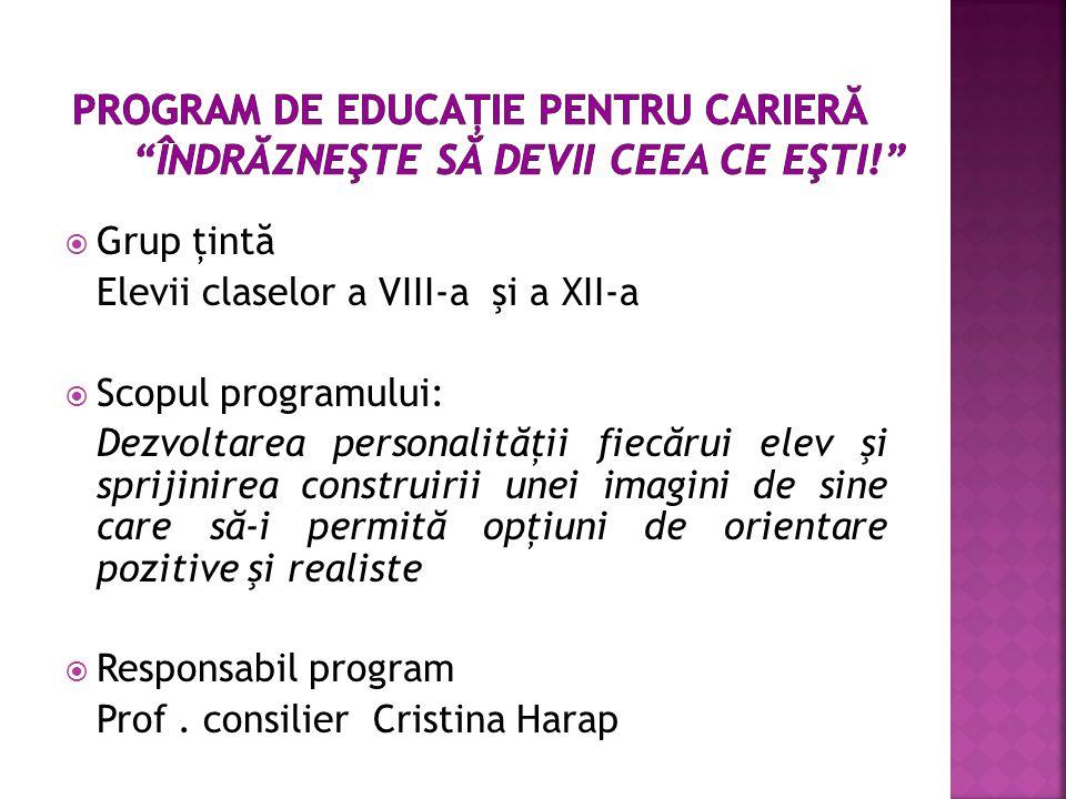 program consilier opțiuni)