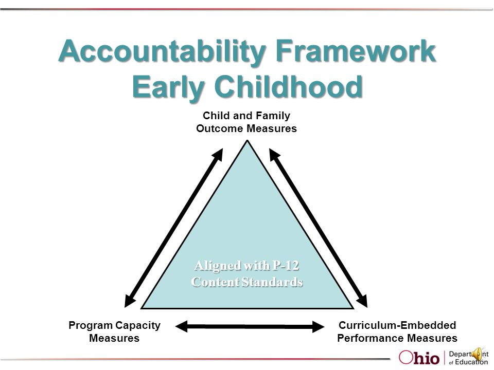 ACCOUNTABILITY Where does this performance measure fit in the big picture
