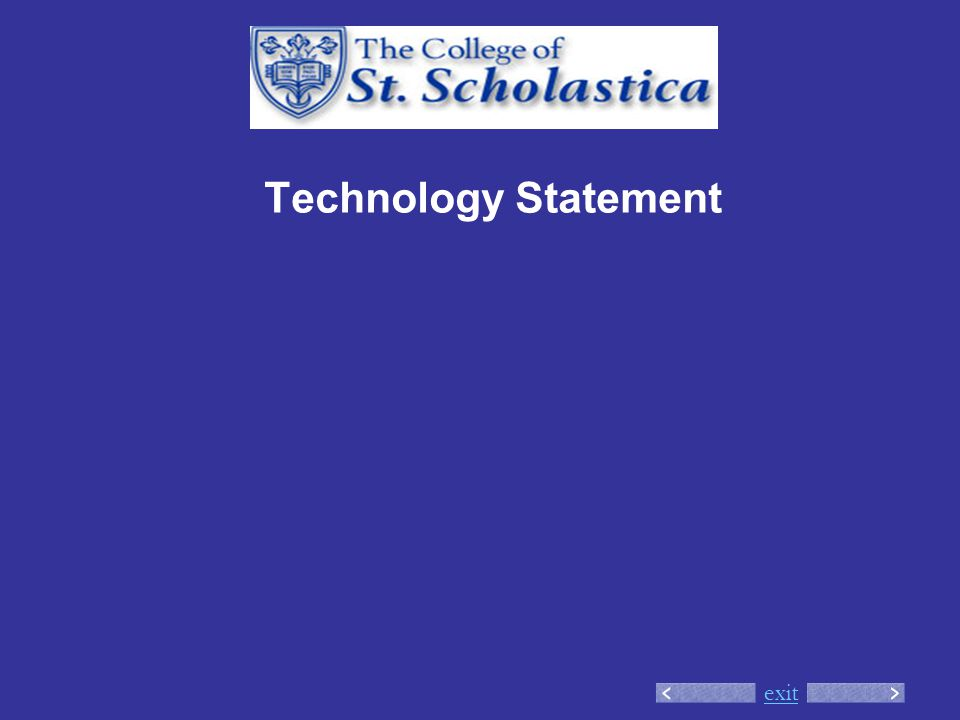 exit Technology Statement