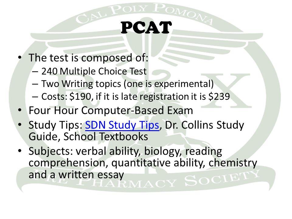 Pcat pdf collins dr.
