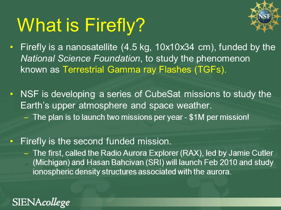 the firefly satellite mission understanding earth s most powerful