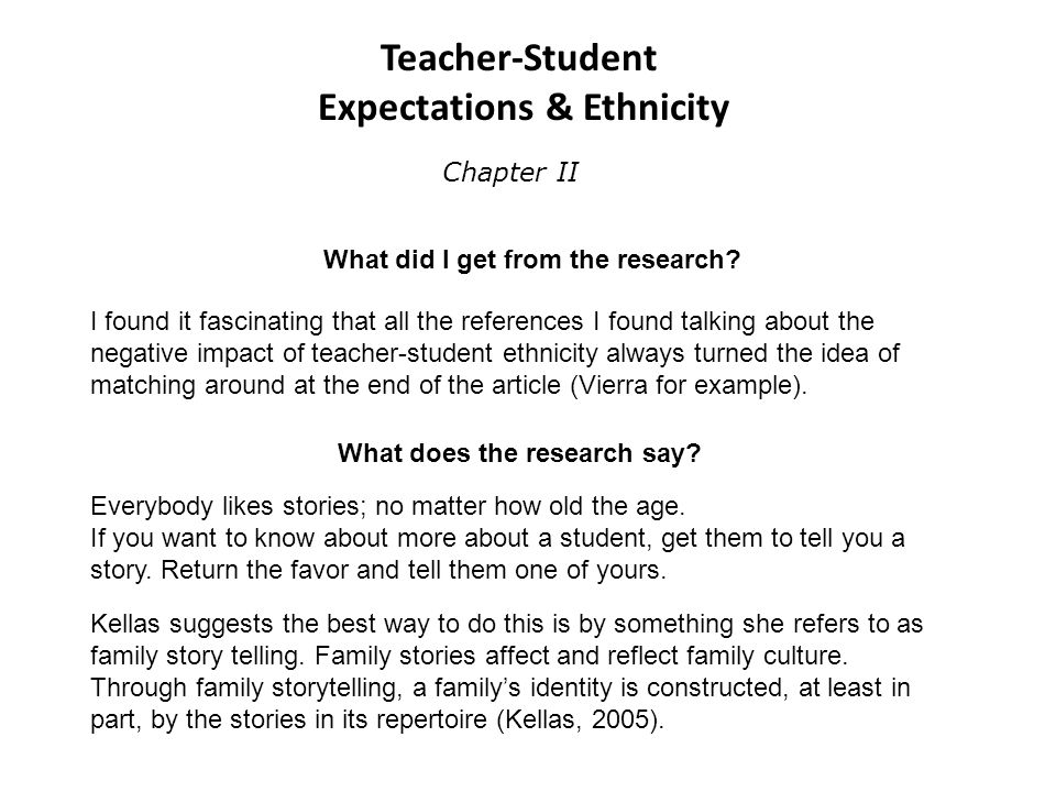 Idea And Expectations Part Ii >> By Holder Stephen D Proposal Defense Teacher Student Expectations
