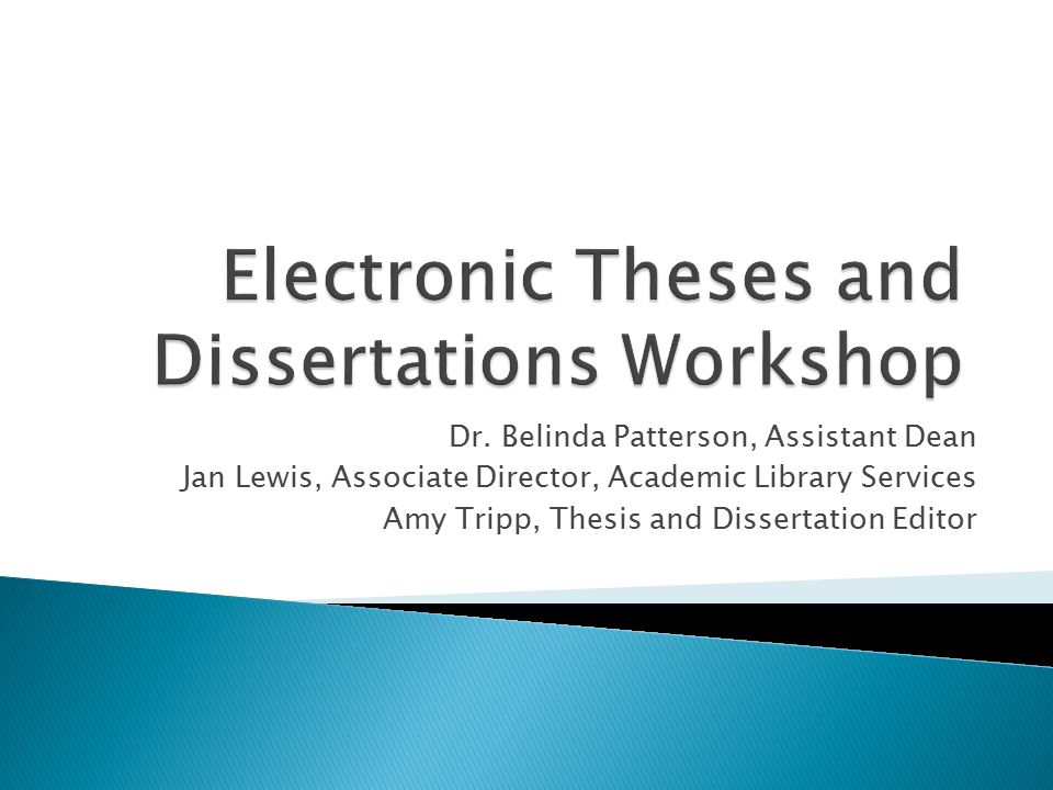 vanderbilt electronic theses and dissertations Printed submission: two copies of the entire thesis or dissertation, printed on white, acid-free 85 x 11 inch paper, of at least 20-lb weight and 25% cotton content, must be turned into the graduate school copies must be sharp, clear, and free of smudges or extraneous marks.