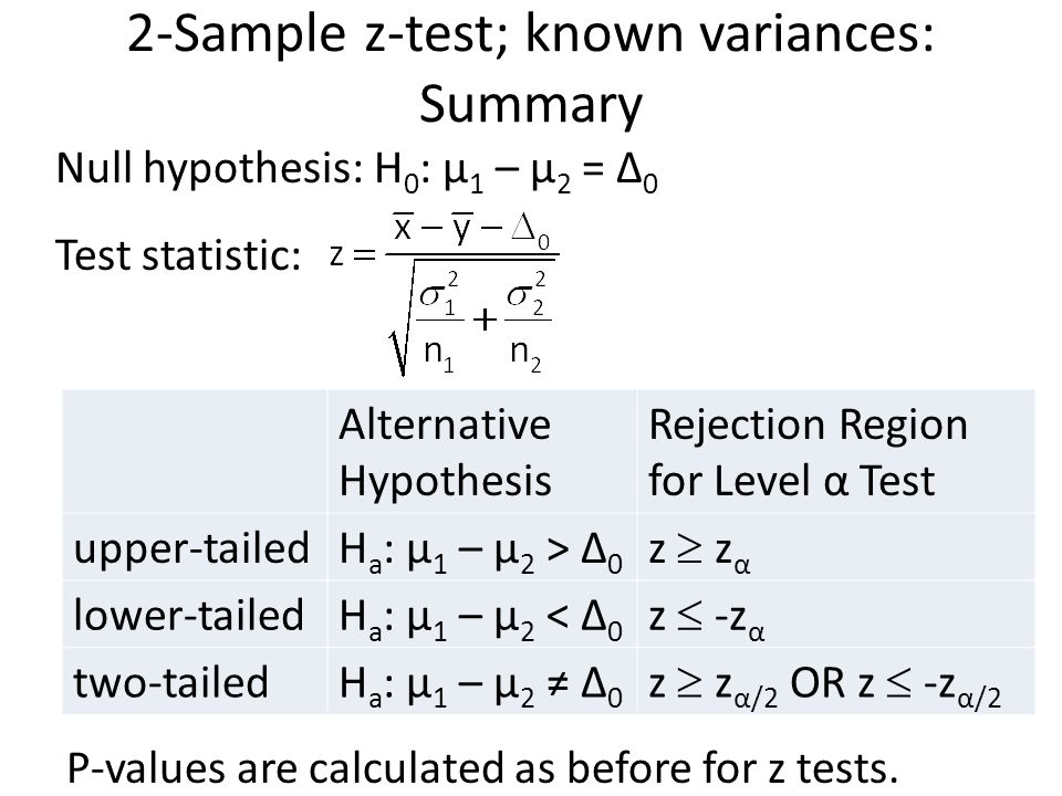 Hypothesis testing – two samples ppt video online download.