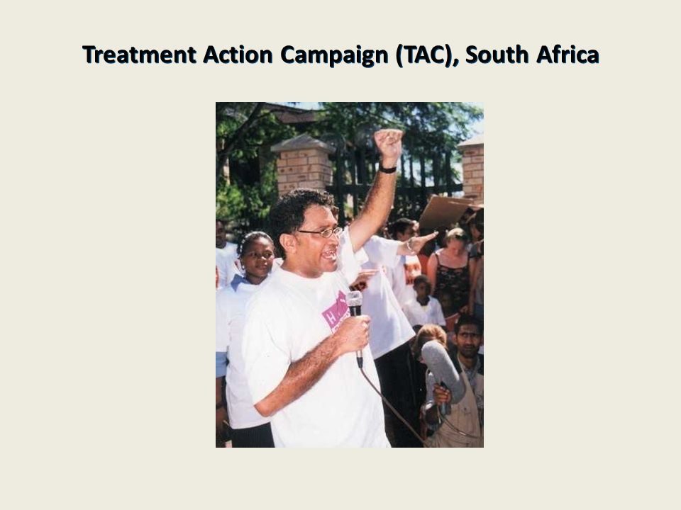 Treatment Action Campaign (TAC), South Africa