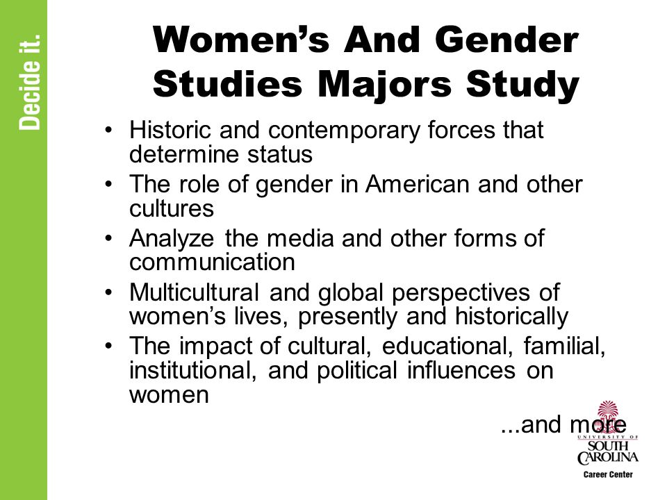 contemporary gender study The gender studies (gs) minor examines the role of gender identity in shaping human experience gender studies analyzes how masculinities and femininities interact with sexuality, race, social class.