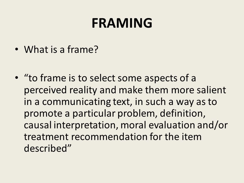 """The Agenda Setting Function of the Media,"""" and """"Framing Toward ..."""
