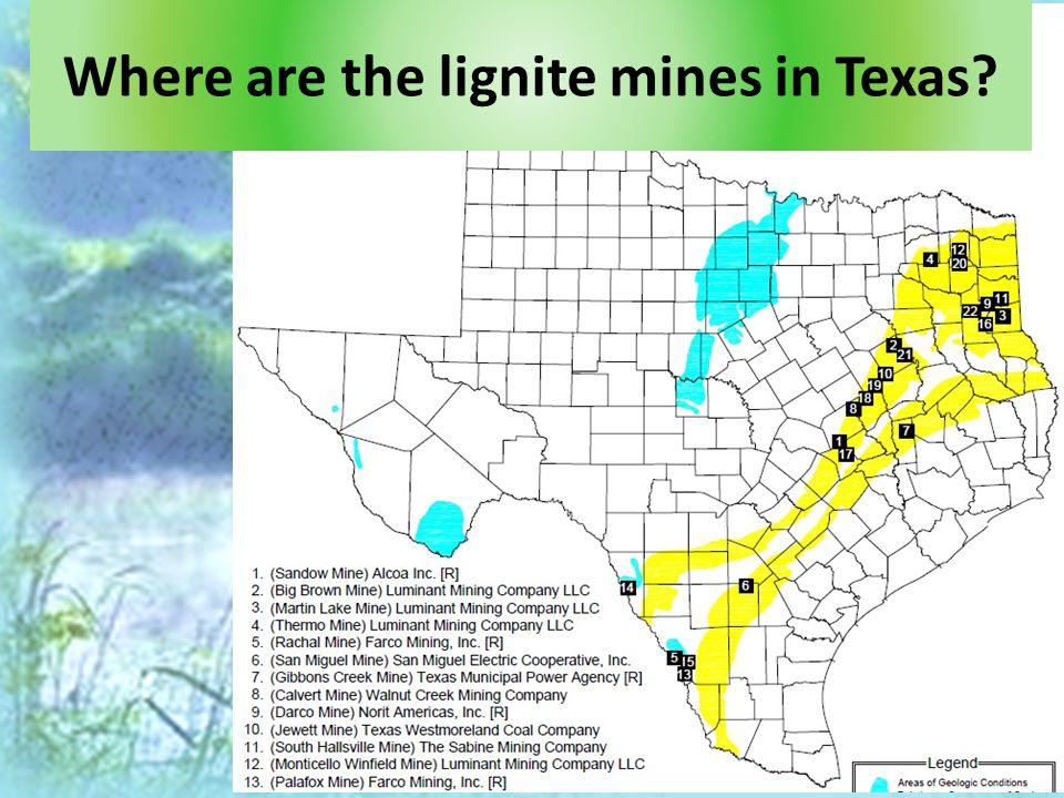 A GIS-based comparison of pre- and post-lignite strip mine