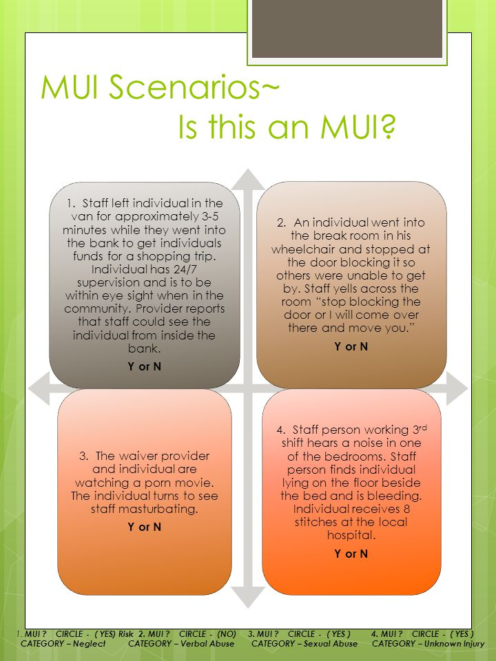 MUI/UI Training Annual. What is our ILO? What is an MUI? - ppt download - 웹