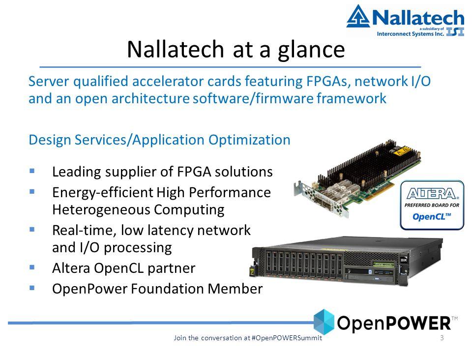 Enabling Coherent FPGA Acceleration Allan Cantle, President