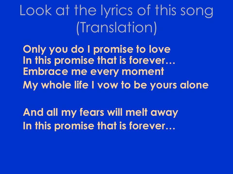 Dating ikaw lyrics translation
