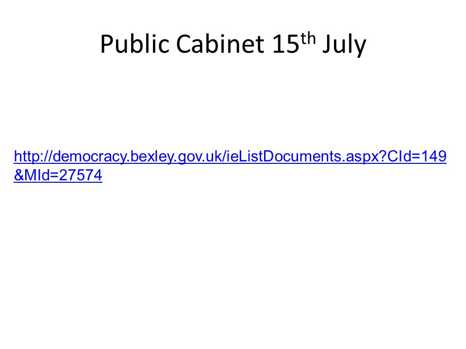 Public Cabinet 15 th July   CId=149 &MId=27574