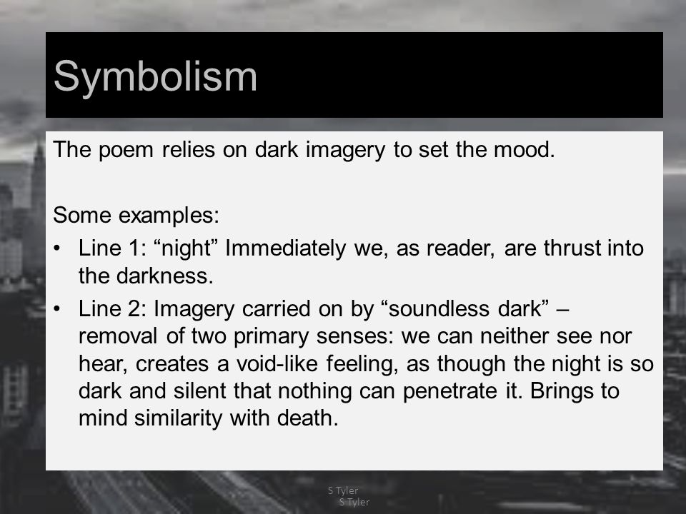 symbolism in whitmans poem It is said that a poem is an act of attention—to someone, something, some experience or portion of existence, grasped, imagined, or remembered—and in the first section of song of myself whitman offers an image of the poet attending to the world, loafing (marvelous word), leaning, opening his soul up to the world.