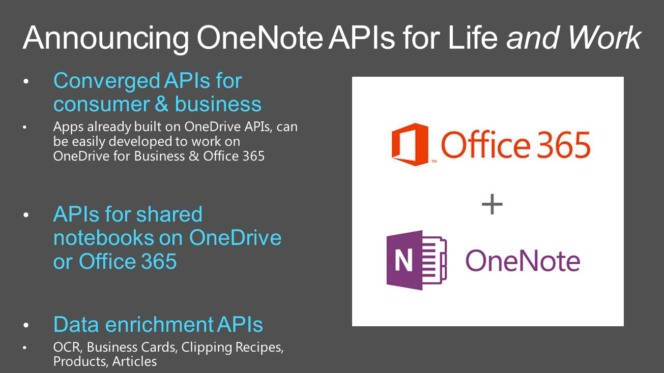 7/29: OneNote for Mac, iPhone & iPad updates -OneDrive for Business