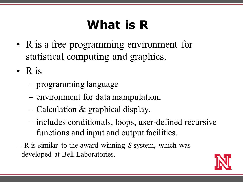 R for Research Data Analysis using R Day1: Basic R Baburao