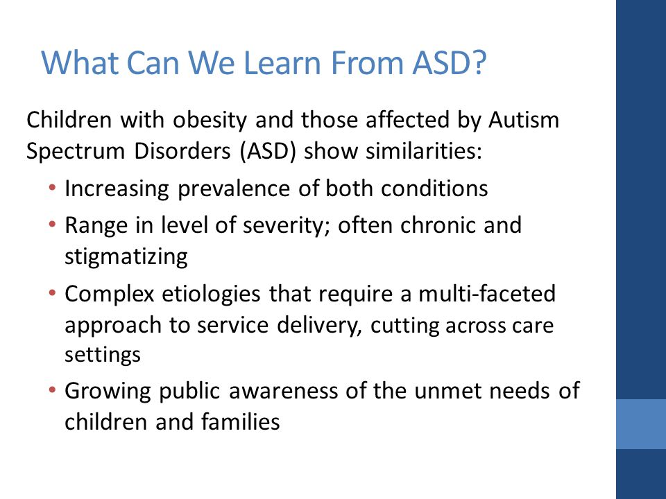 What Can We Learn From ASD.