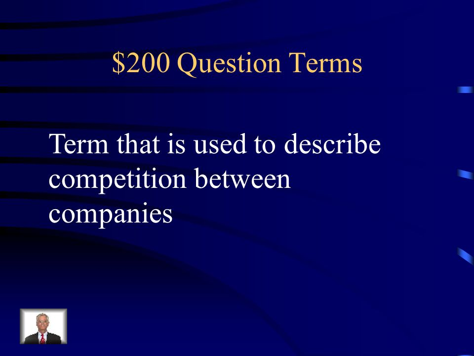 $100 Answer Terms What does barter mean
