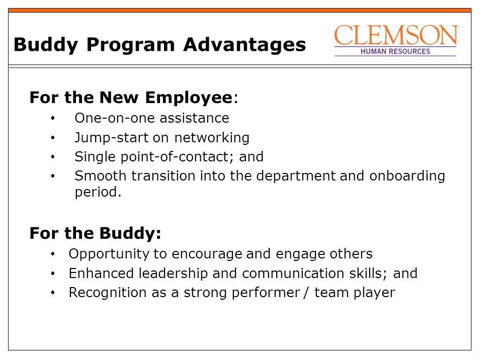 facilities pilot buddy program 2020 goals attract retain reward rh slideplayer com New Employee Orientation Clip Art New Employee Experience