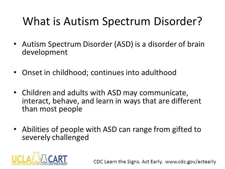 UCLA Center for Autism Research and Treatment Amanda Gulsrud