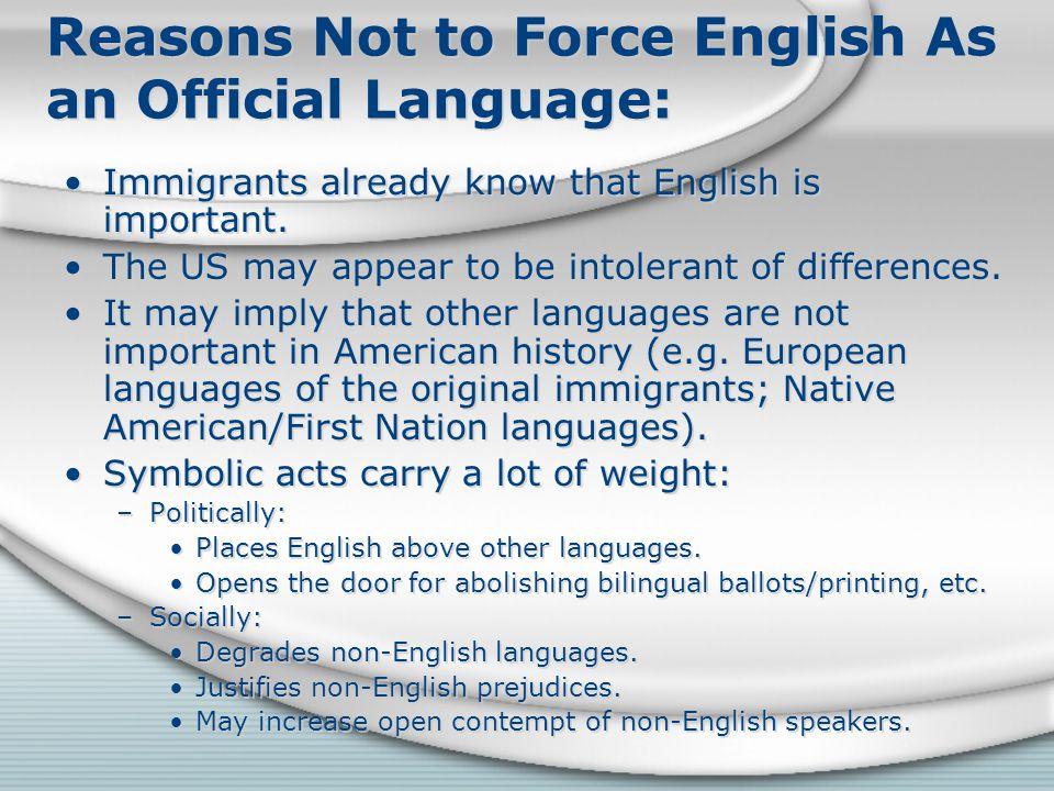 why english language is important for us