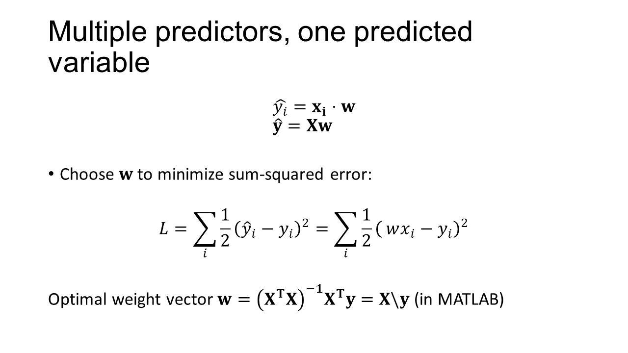 Ridge regression and Bayesian linear regression Kenneth D