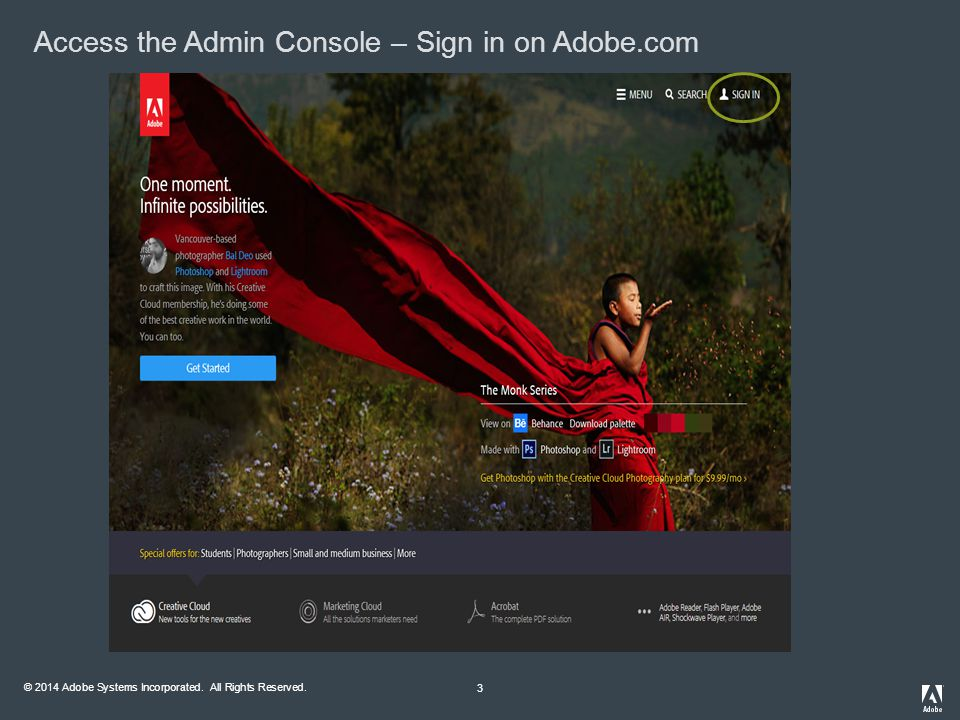 2014 Adobe Systems Incorporated  All Rights Reserved  Walk