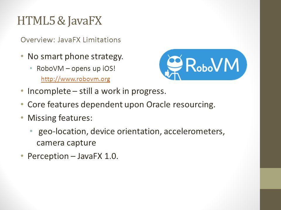 JavaFX Versus HTML5 Ryan Cuprak, Dassault Systemès David Grieve