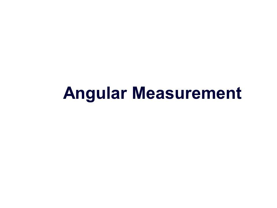 Angular Measurement   Chapter ' s key points 1