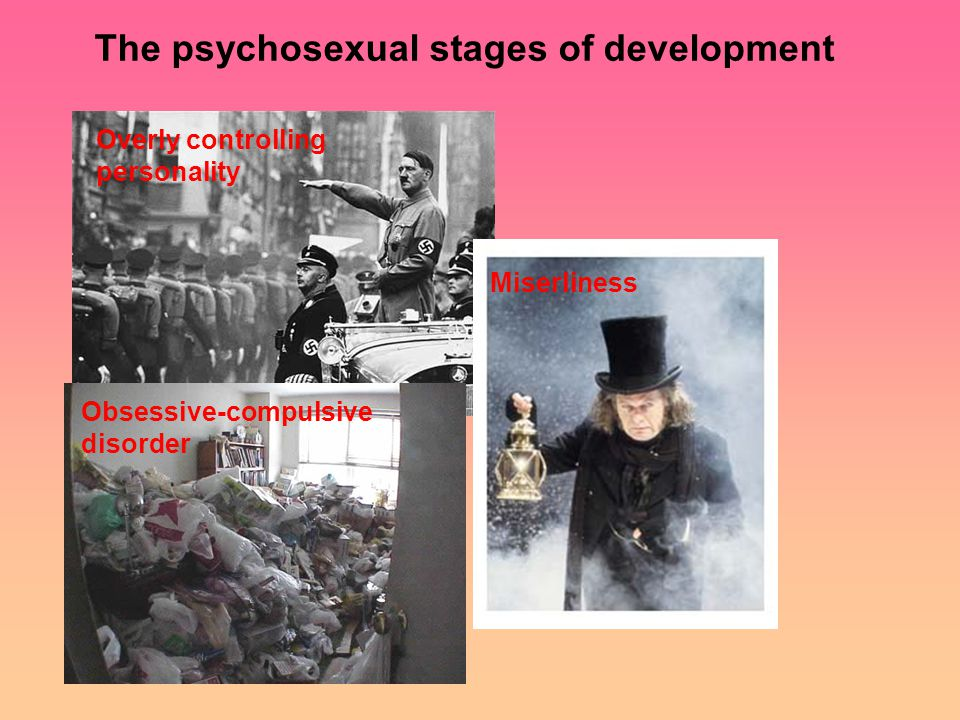 Overly controlling personality Miserliness Obsessive-compulsive disorder The psychosexual stages of development
