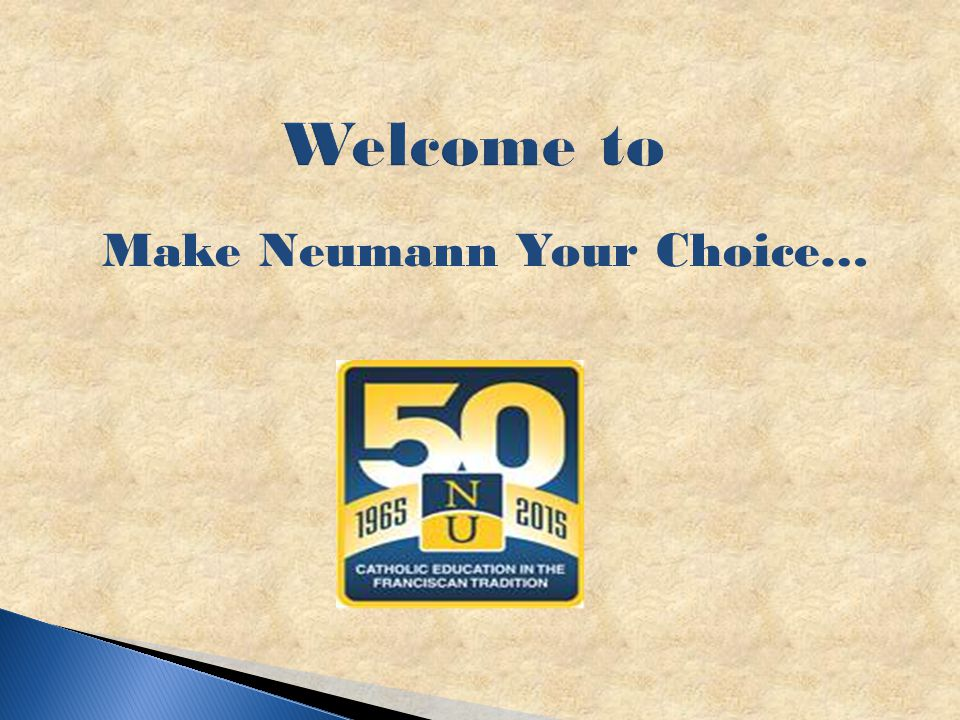 Welcome to Make Neumann Your Choice…