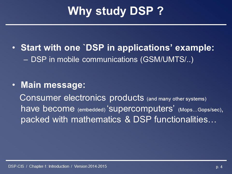 digital signal processing ppt topics