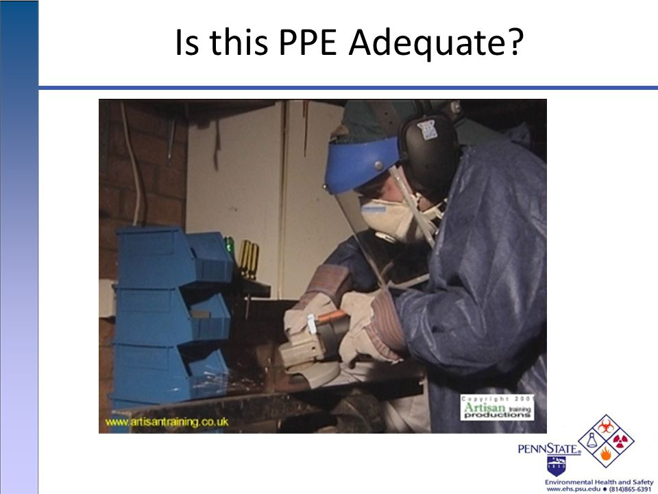 Is this PPE Adequate