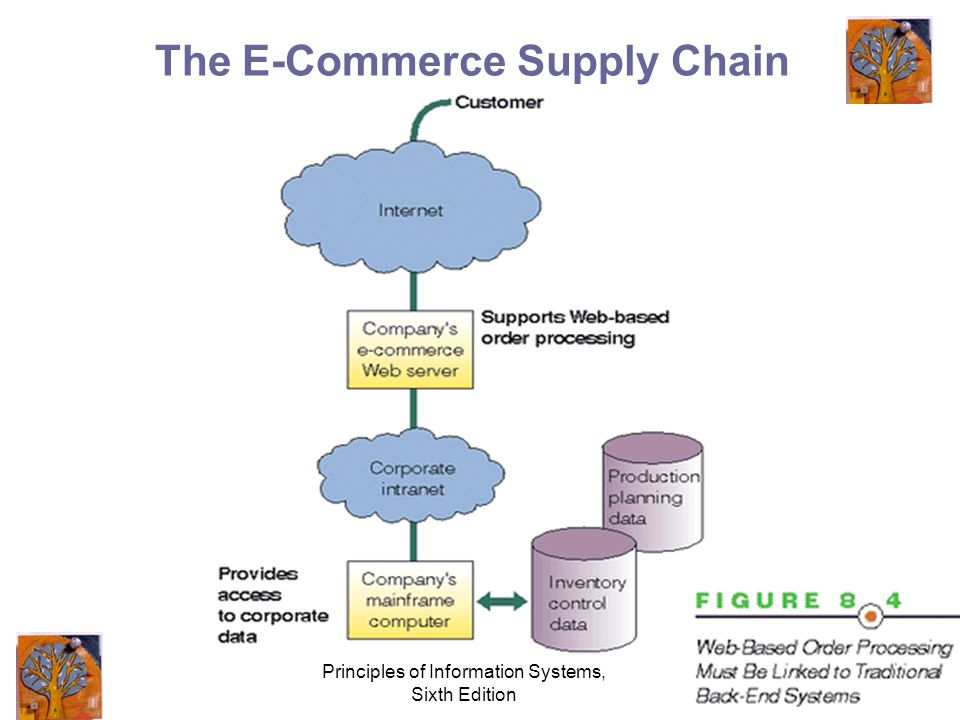 Principles of Information Systems, Sixth Edition 11 The E-Commerce Supply Chain