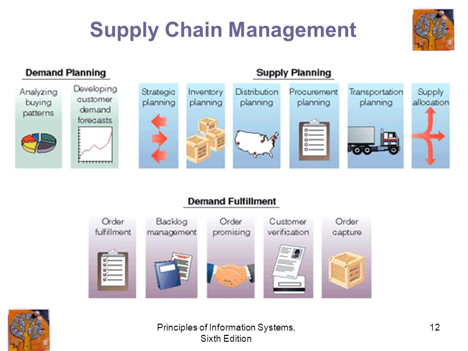 Principles of Information Systems, Sixth Edition 12 Supply Chain Management