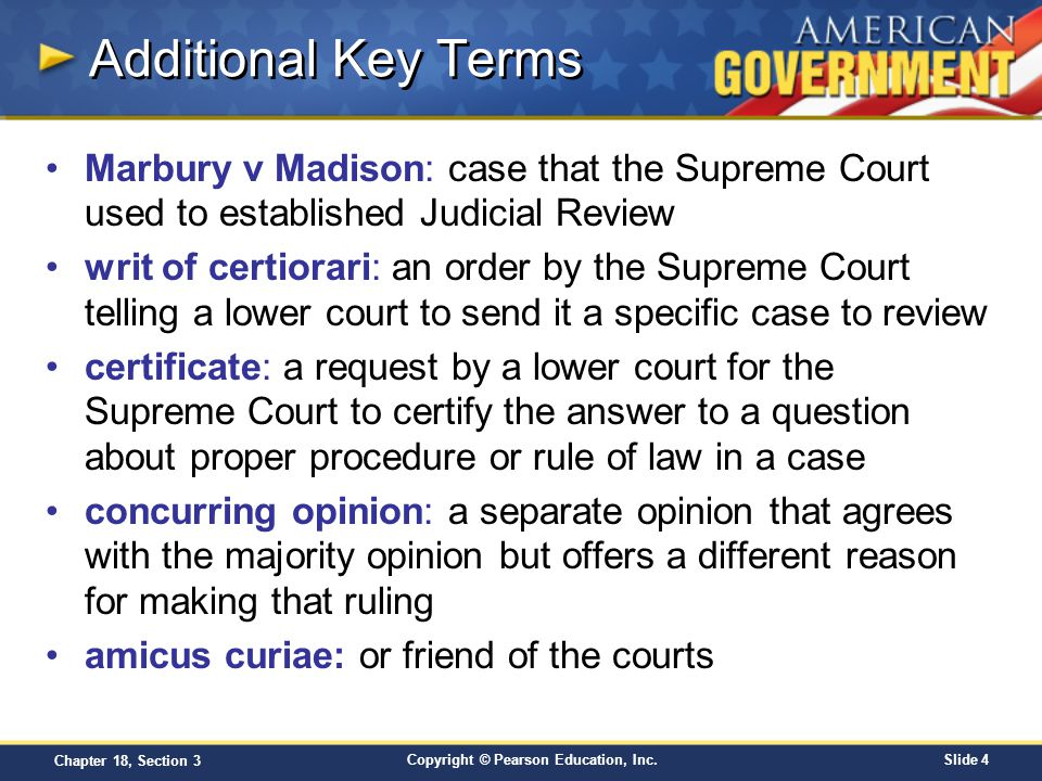 marbury v madison analysis