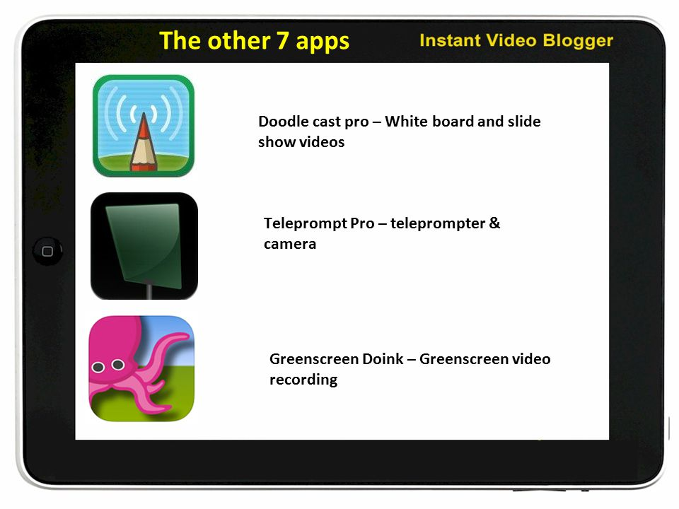 Video Blogging with iPad and Wordpress And the 10 Apps That