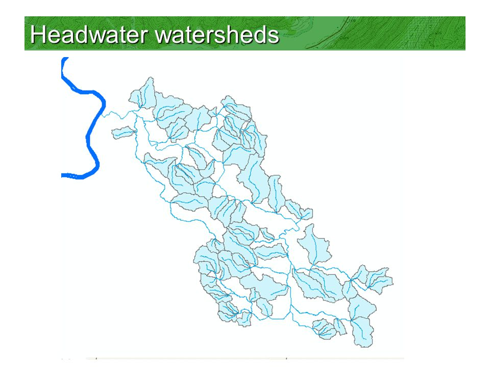 Headwater watersheds