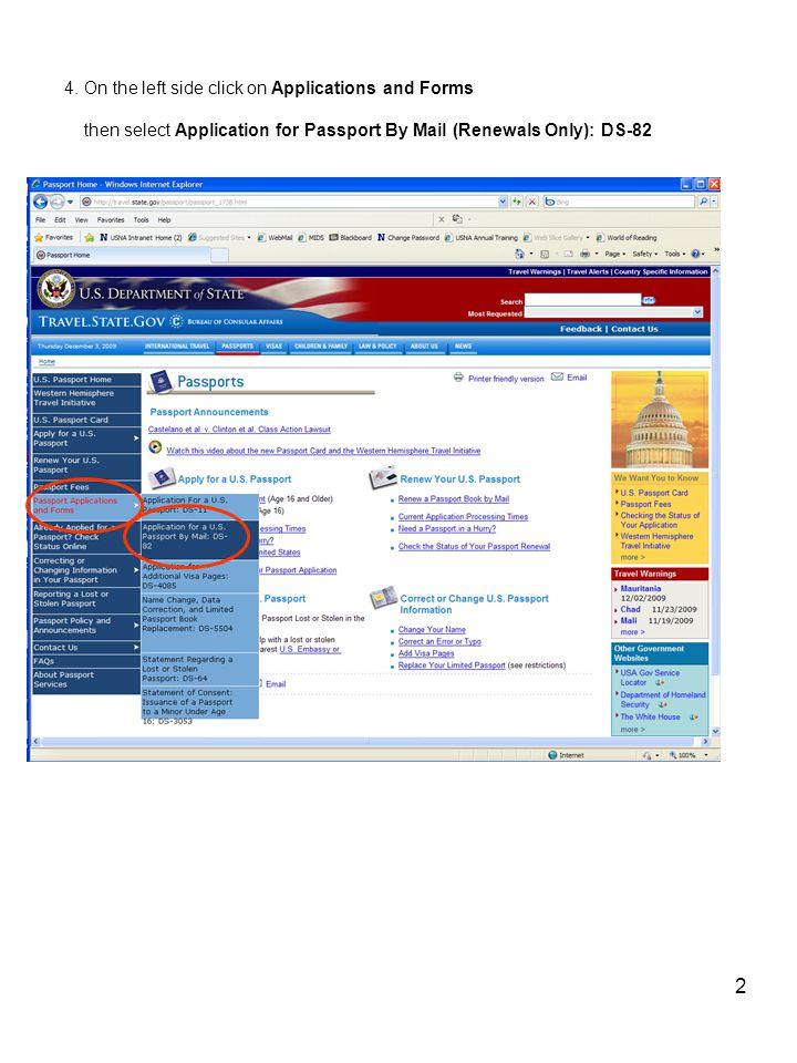 1 International Programs Office Revised 3 Dec 2009 Subj Official