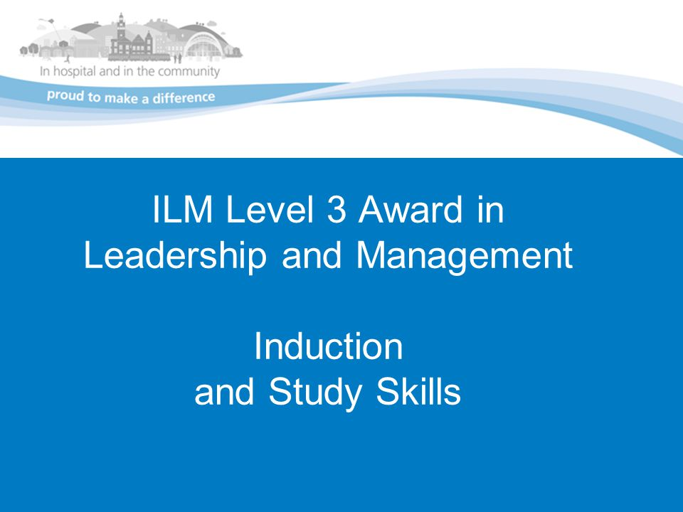 ilm level 3 m3 12 Ilm level 3 in management  ilm level 2 this course is designed to give practising or  average length is 12 months open kitchen, our training bar and restaurant.