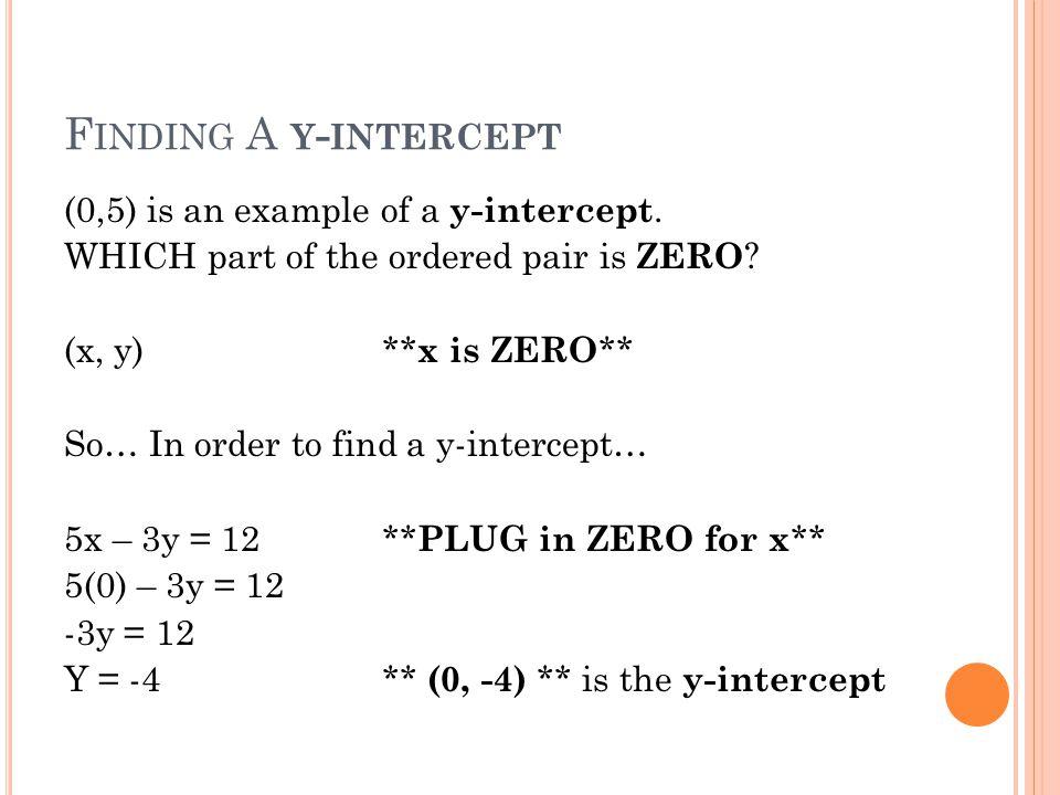 Standard Form Of A Line A X B Y C Rules A Must Be Positive