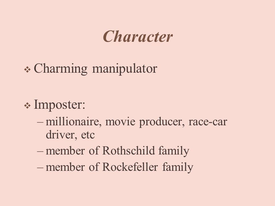 Charming manipulator