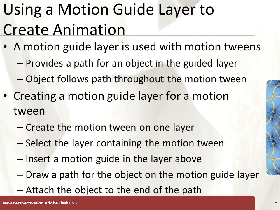 Create motion tween animation in animate cc.